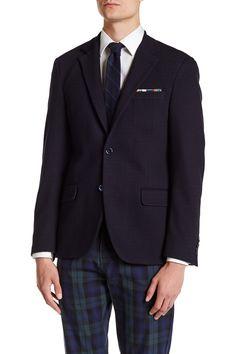 Logan Square Textured Slim Fit Sport Coat