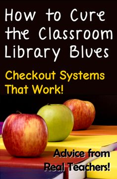 How to Cure the Classroom Library Blues: Checkout Systems that Work! Read about traditional and technology options for book checkout systems. Part of Laura Candler's Advice from Real Teachers series.