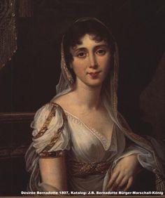 Désirée Bernadotte, naciada Désirée Clary, reina de Suecia