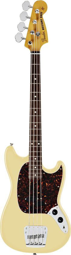 Bassists who appreciate a short scale and cool 1960s style will want to get their hands on the Mustang Bass, a thoroughbred reissue that captures the popular original student instrument's feisty mid-'