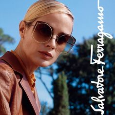 "66e0206b9c2c Salvatore Ferragamo on Instagram: "" Oversize and gold-rimmed, these triple  gradient lenses feature signature #Gancini accents for maximum impact ..."