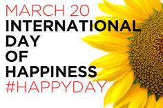 #InternationalDayOfHappiness