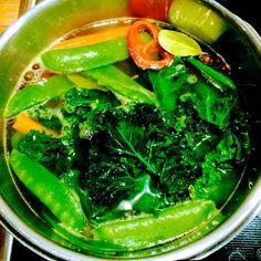 Greeneiro: Vegetable soup with kale / Zupa jarzynowa z jarmuż...