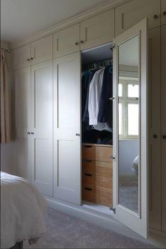 Best Indoor Garden Ideas for 2020 - Modern Bedroom Built In Wardrobe, Bedroom Closet Design, Bedroom Built Ins, Fitted Bedroom Furniture, Bedroom Closet Doors, Fitted Bedrooms, Wardrobe Room, Bedroom Cupboard Designs, Bedroom Cupboards