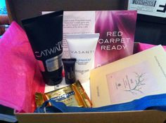February Birchbox 2013 // Red Carpet Ready