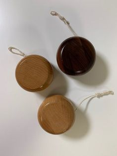 Old Fashion Wooden YoYo Toy Old fashioned fun with a solid wood yo yo that you can pass on to children and grandchildren. #woodtoys
