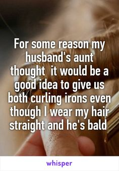 Whisper App. Confessions on craziest wedding gifts.
