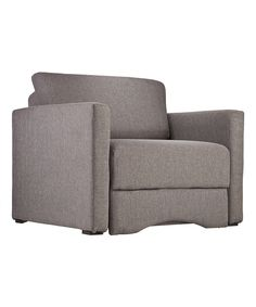 Look at this Gray Tyndall Sleeper Chair on #zulily today!