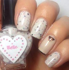 No link just cute nail idea credit in image