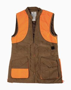 c06f2e6af430b The women's wax cotton upland vest was designed to fit the shape of a woman  for better performance in the field. The vest is a functional performance  ve.