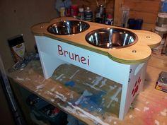 #raiseddogbowls #elevatedfeeder #feedingstation www.raiseddogbowls.co.uk