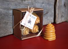 www.Mahakobees.com/store.html pure BEESWAX HIVE votive candles from Erinn. Make your own using our kit.