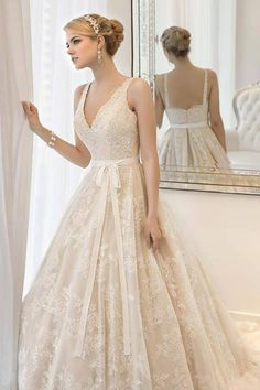 lovely wedding dress ♥