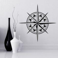 Mit Diesem Motiv Wirst Du Niemals Die Richtung Verlieren Windrose Kompass Wadeco