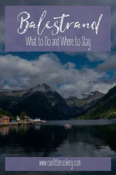 There's lots to see beyond Flåm and Balestrand is at the top of the list of fjord towns to visit. All Family, Family Travel, Norway Travel Guide, Holidays In Norway, Norway Fjords, European Travel, Travel Europe, Visit Norway, Best Places To Travel