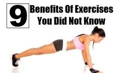Benefits Of Exercises