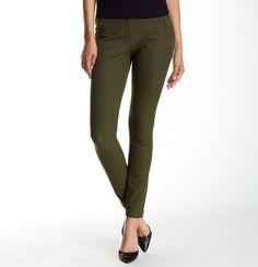 NEW TheoryAdalwen Jetty Slim Zip-Pocket Pants,DARK LAURE, SIZE 2, $235 retail  #Theory #DressPants