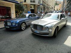 Bentley Mulsanne, Bmw