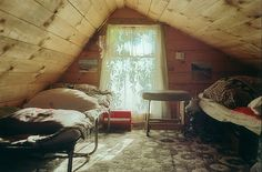 I've always had a dream to have an attic.