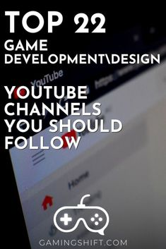 If you want to improve your game development or design skills there isn't a place like Youtube to do so. Check these top 22 game development\design youtube channels that will push your skills to the next level. #gamedevelopment #gamedev #youtube Unity Game Development, Mobile Game Development, All Video Games, Unity Games, Gaming Tips, Game Engine, Different Games, Indie Games, You Youtube