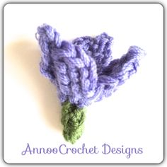 Crocus Flower Free Tutorial by AnnooCrochet Designs