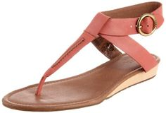 $79.00-$79.00 FOSSIL Women's Suzie Thong Sandal (Rose Leather 10.0 M) - Step into spring with our chic and casual Suzie Sandal. Leather straps and a wedge heel add a vintage-inspired flair. Material: Genuine Leather UpperOutsole: Synthetic Material and Wood Wedge HeelLining: Synthetic MaterialDetails: Custom branded hardware, cushioned footbedHeel Height: 0.47Shipping: Will be shipped separately f ...