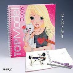 TOP MODEL colouring book
