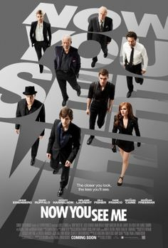 Now You See Me (2013) starring: Jesse Eisenberg, Mark Ruffalo, Woody Harrelson, Isla Fisher, Dave Franco, Melanie Laurent, Morgan Freeman and Michael Caine... !!JESSE EISENBERG!!
