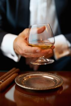 Brandy tip., always hold the glass cradled in the palm of your hand. This will gently warm the brandy and release its characteristic aromas.