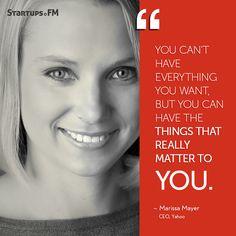 Marissa Mayer- The woman who makes #girlpower rock with @Yahoo!! #entrepreneur