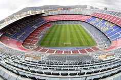 Camp Nou Stadium Wallpaper Camp Nou Stadium Wallpaper is the one of favorite stadium of the World. Here is the Barcelona FC Camp Nou Stadium hd Wallpaper for desktop background. Camp Nou Barcelona, Fc Barcelona, Barcelona Futbol Club, Barcelona Guide, Soccer Stadium, Football Stadiums, Football Field, Stadium Tour, Stadium Wallpaper