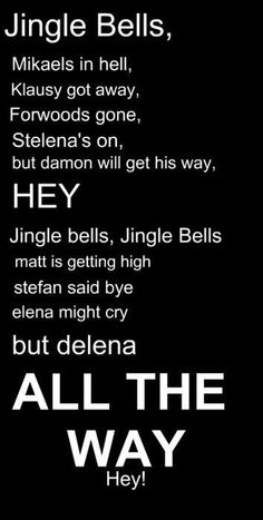 Jingle Bells of TVD