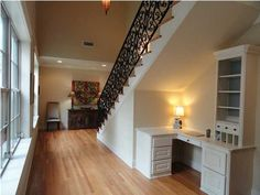 Desk Under Stairs Home Design Ideas, Pictures, Remodel and Decor ...