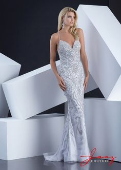 Turn heads at your prom in this dazzling dress by Jasz Couture