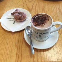 Valvona & Crolla in Edinburgh, Edinburgh, despite selling a huge varieties of Hot Chocolates they make theirs on cadbury powder, a tad disappointing