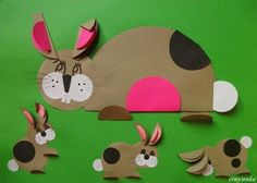 the best circle paper crafts for kids « Preschool and Homeschool Paper Crafts For Kids, Easter Crafts, Papier Kind, Origami, Luau Party Decorations, Farm Animal Crafts, Circle Crafts, Cool Paper Crafts, Paper Animals