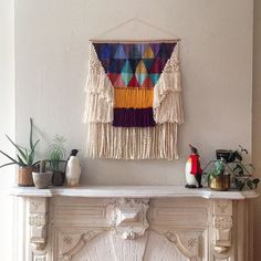 CUSTOM weaving for Sarah Shetter woven wall by MaryanneMoodie