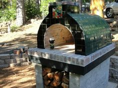 The Eisan Family Wood fired DIY Brick Pizza Oven in California by BrickWood Ovens