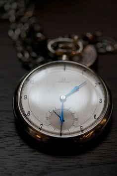 Pocket watches are cool.  Omega.
