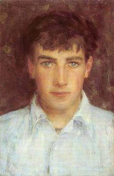Portrait of Johnny Jackett, Henry Scott Tuke