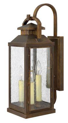 Hinkley Lighting Revere 3 Light Outdoor Wall Lantern in Sienna 1185SN
