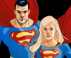 """People are going to get hurt and some will die because, even with all of our powers, we can't possibly save everyone all of the time… but not trying to when we have the ability to make a difference is just as bad. - Superman/Supergirl: Maelstrom •Phil Noto"