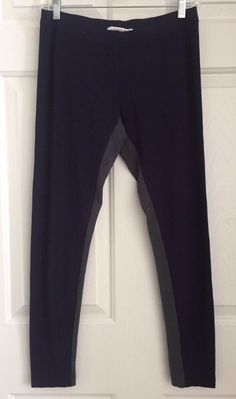 e42a01e48479d Lacoste Women's Leggings Navy Blue Active Cropped Pants Size EU 40 US Small  #fashion #