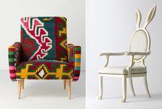 Que tal mudar o visual do seu quarto com Cadeiras e Poltronas Criativas? É possível transformar o seu cantinho com cadeiras e poltronas bem diferentes!