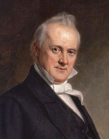 (15) James Buchanan, Jr. (April 23, 1791 – June 1, 1868, English pronunciation: /bjuːˈkænən/) was the 15th President of the United States (1857–1861). He is the only president from Pennsylvania and the only president who remained a lifelong bachelor. His niece Harriet Lane played the role as lady of the house. wem
