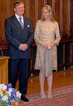 munchen -Koning Willem-Alexander en koningin Maxima