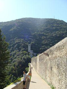 italy ♥ spoleto walk to monteluco..