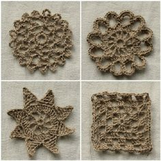 diy projects with jute--crochet with jute