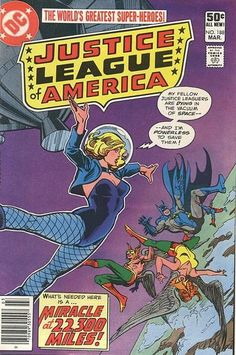 Cover for Justice League of America (DC, 1960 series) #188 #JusticeLeagueOfAmerica #vintageJLAcover #comicbookcovers