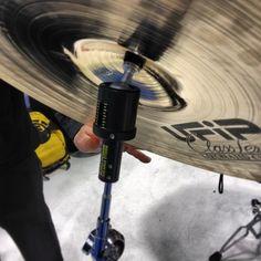 https://flic.kr/p/jvajRf   Rotodrum Power Balance System cymbal tilter #nammshow   by modern_drummer ift.tt/1mIFhcr